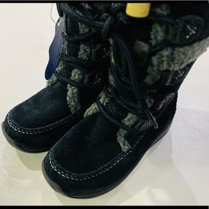 Timberland Zesta Suede Tall Toddler Boots Size 7